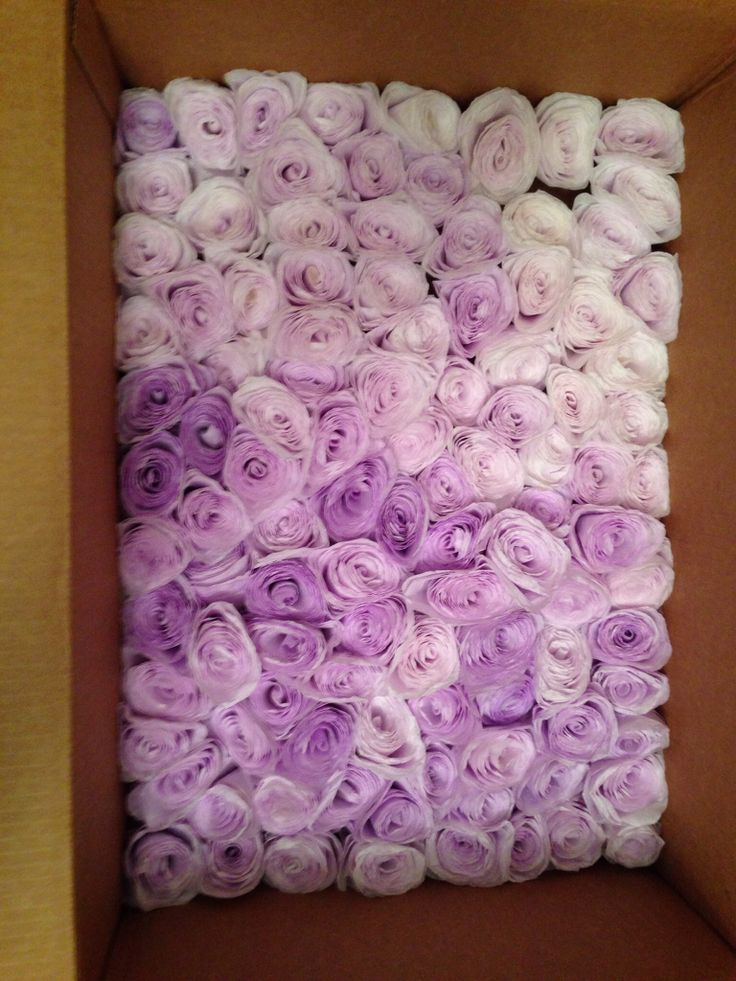#handdyed #lavender #coffeefilter #roses #flowers #diy #popular #partyplanner #bridalshower #decorations