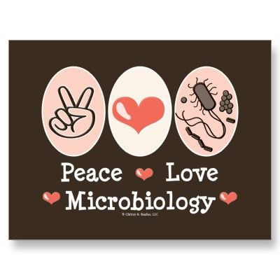 Peace Love Microbiology