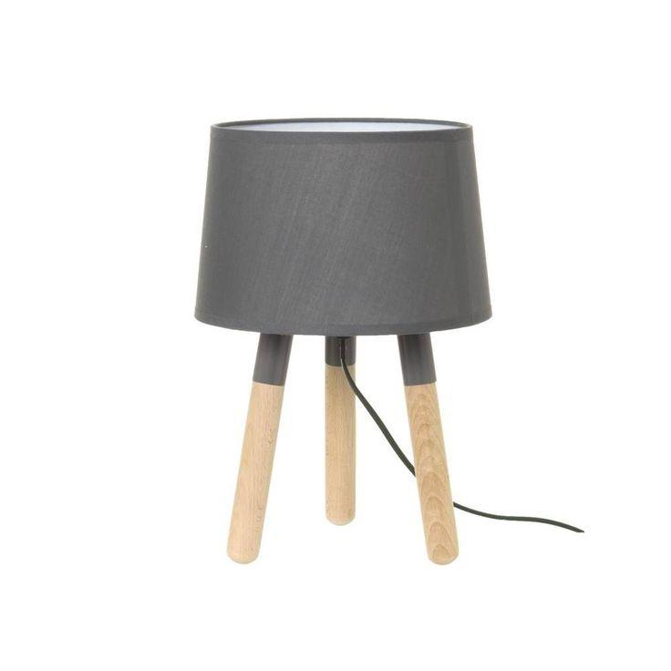 Mooie tafellamp op houten poten van Leitmotiv, leverbaar in diverse kleuren. Afmeting : D22 H32 - De Tafel Van 10 (online) woonwinkel
