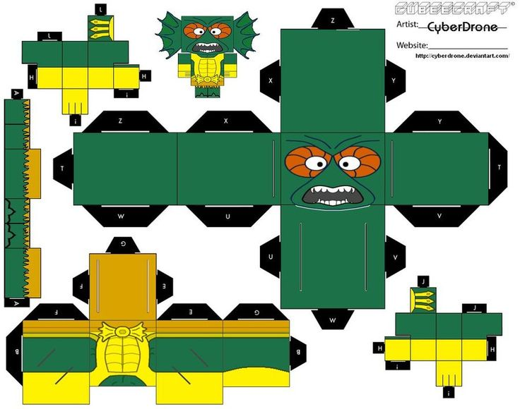 375 best cut and folds that rock images on pinterest cartoon part 1 of my custom cubeecraft cutout template of merman from the tv cartoon series he man and the masters of the universe part 2 for this cubee can be pronofoot35fo Choice Image