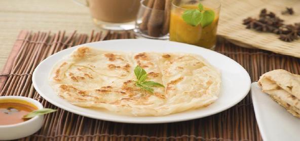 Rice Flour and Maida Roti