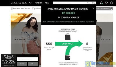 Cara Menggunakan Voucher Zalora Dari MobileXpression GlobalTestMarket dan Nusaresearch #OnlineSurvey