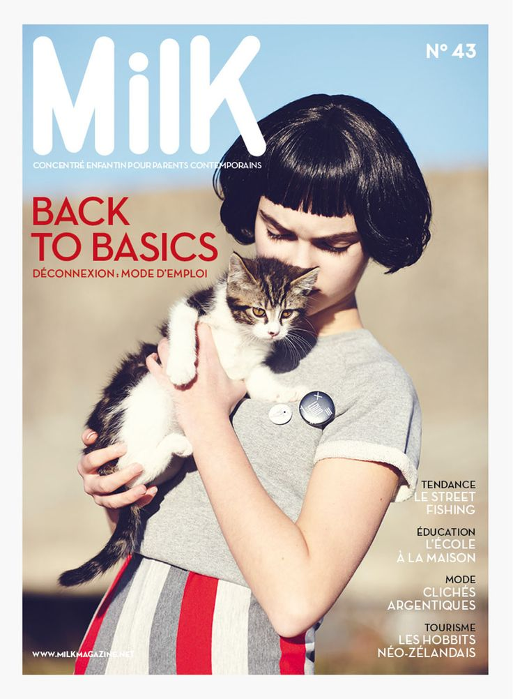 milk 43 est en kiosque   MilK - Le magazine de mode enfant