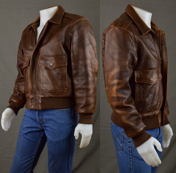 255 best leather flight jacket images on Pinterest | Bombers ...