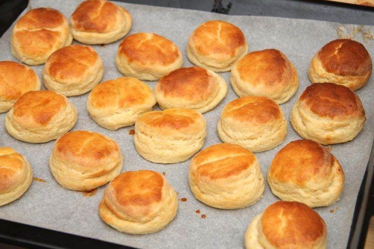 Habkönnyű burgonyás pogácsa recept