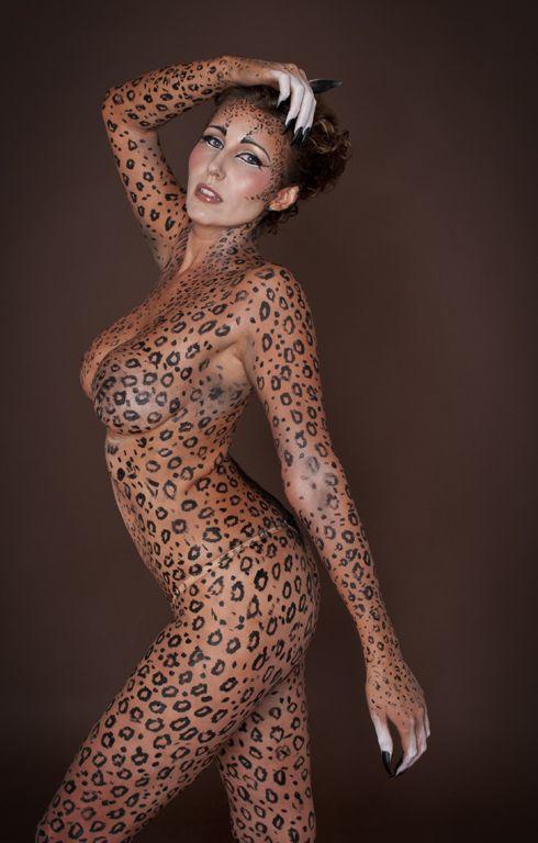 Joyce leopard nude