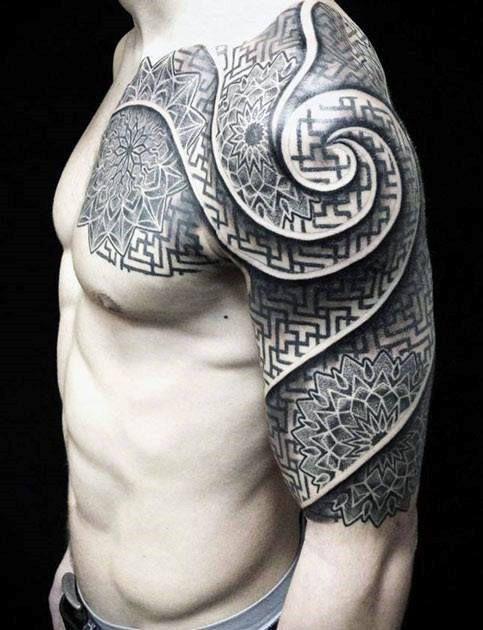 Celtic Half Sleeve Tattoos For Men