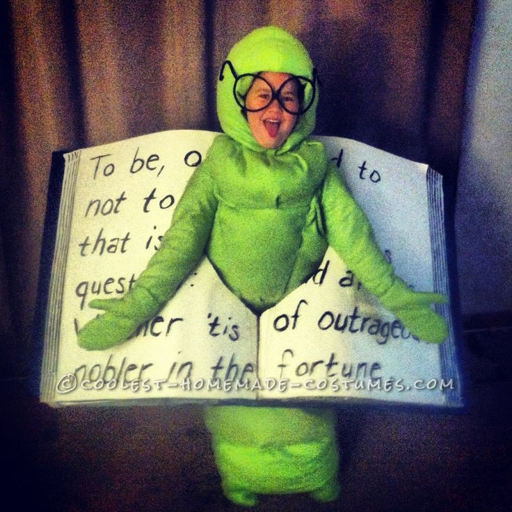 Smartest Bookworm Costume Ever!... Coolest Homemade Costumes