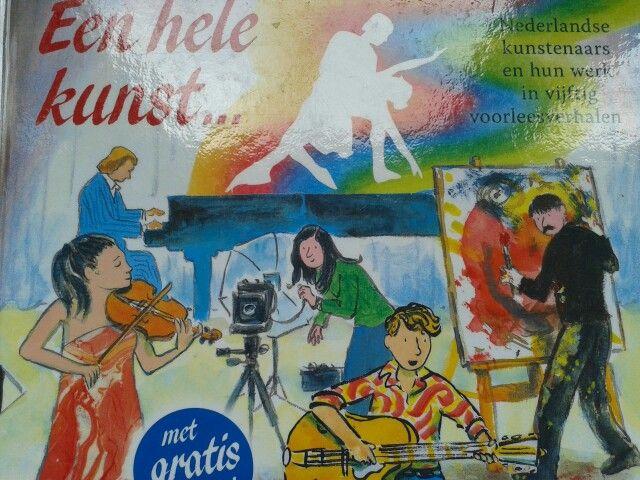 Voorleesverhalen over Nederlandse kunstenaars en hun werk