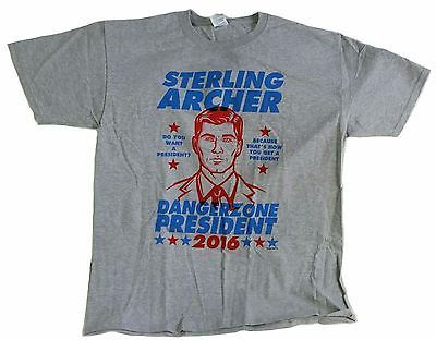 NEW Loot Crate Anti-hero Sterling Archer 2016 Size Large T-Shirt