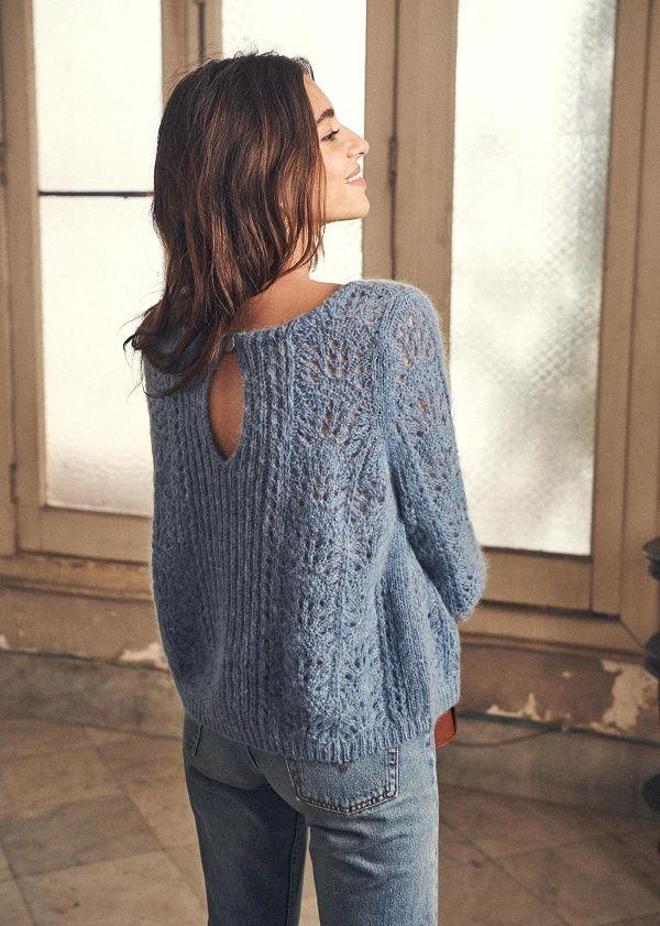 Norvégiens-Tricot Veste avec laine regular fit
