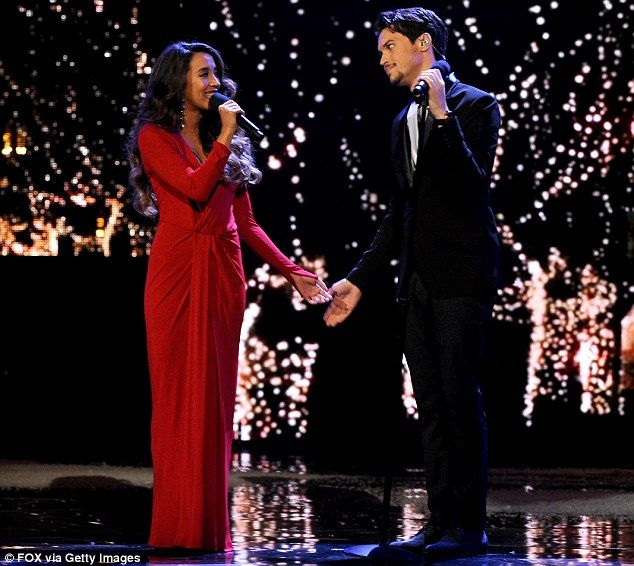 Fan favourites: Alex and Sierra became frontrunners as they steadily improved and touched hearts