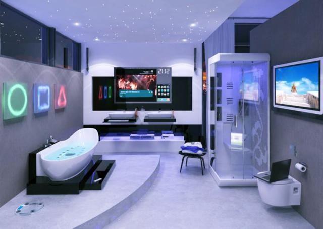 Tech BathroomMan. 169 best ideas about Bathroom on Pinterest   Vanities  Design