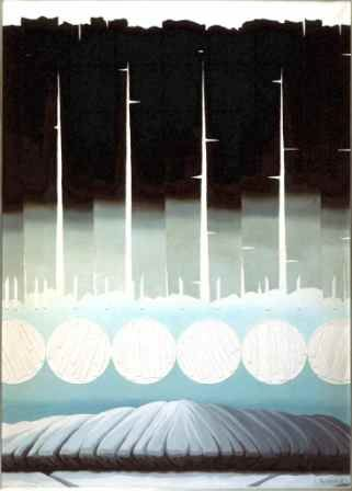 Soviet Nonconformist Art - Lidiya Masterkova. Composition