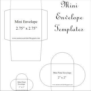 Nature's Corridor: Mini Envelope Template Update