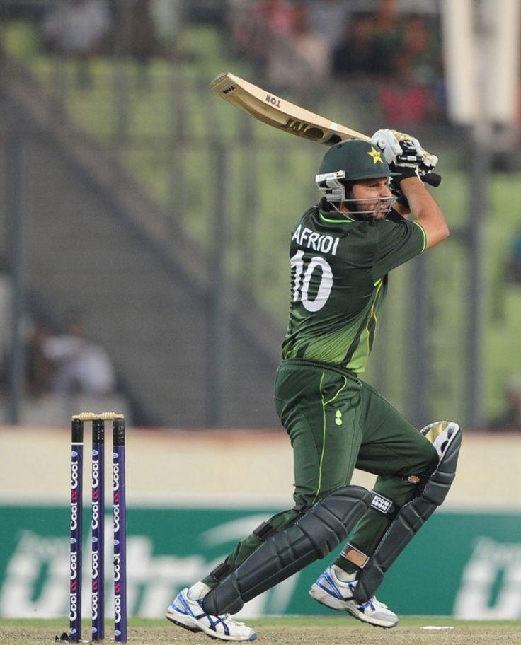 Shahid Afridi Batting Score