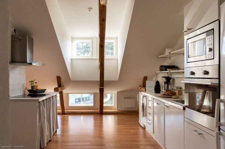 Myytävät asunnot, Bulevardi 10, Hanko #oikotieasunnot #keittiö #kitchen  Kit