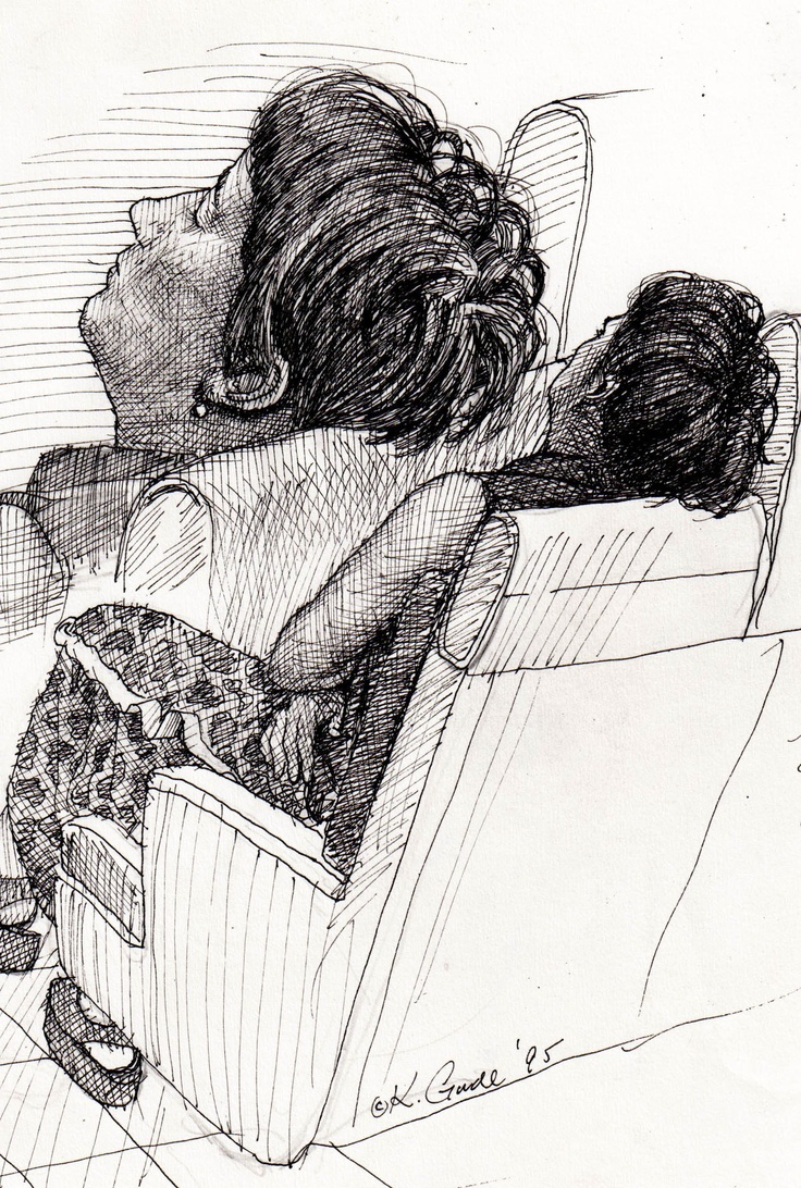 Woman on Metro North RR from my commute into NYC. —Karl Gude