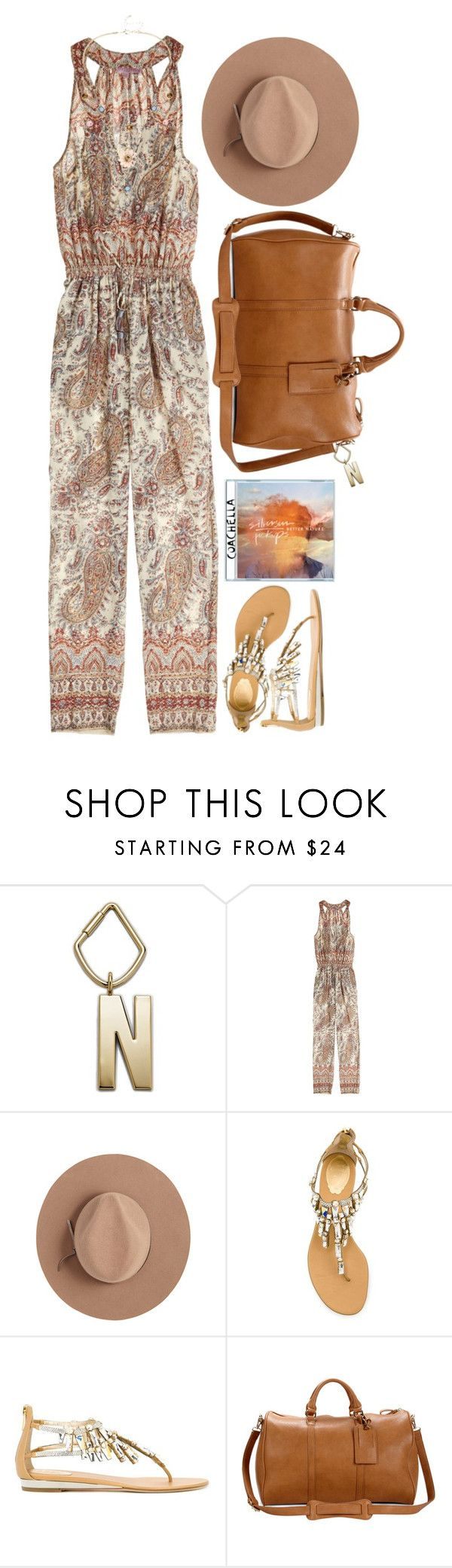 """""""Packing For Coachella: Weekend 1 Night 2"""" by hollowpoint-smile ❤ liked on Polyvore featuring FOSSIL, Calypso St. Barth, Satya Twena, René Caovilla, Sole Society and Mixit"""
