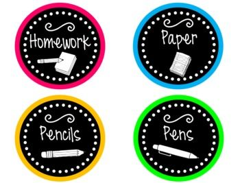 Neon Classroom Decor Set: Yup I'm so buying this!