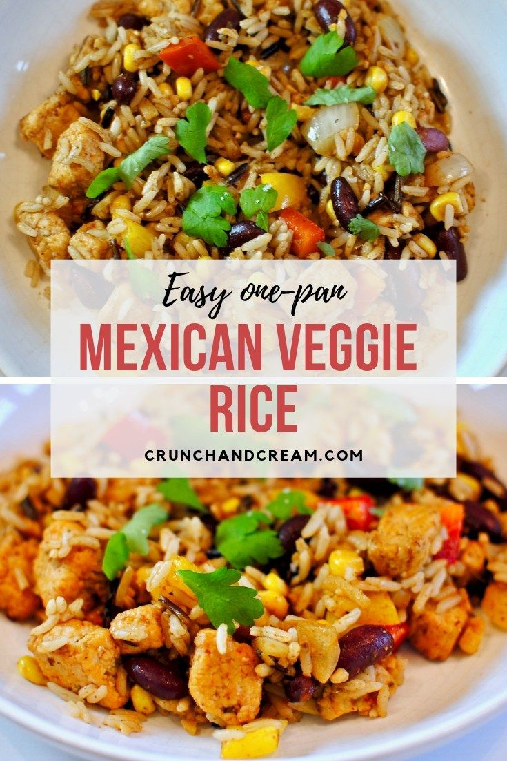 Mexican Veggie Rice Recipe Quorn Recipes Easy Vegetarian Dinner Vegetarian Recipes Dinner