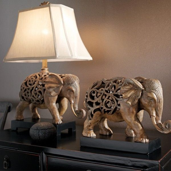 Very 53 best Elephants: Lamps & Candleholders images on Pinterest  GL91