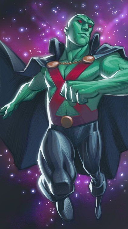 Martian Manhunter by Roger Flint
