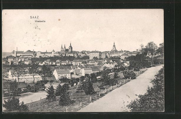 City Žatec / Saaz | Ústecký kraj / Region Aussig | old Postcards