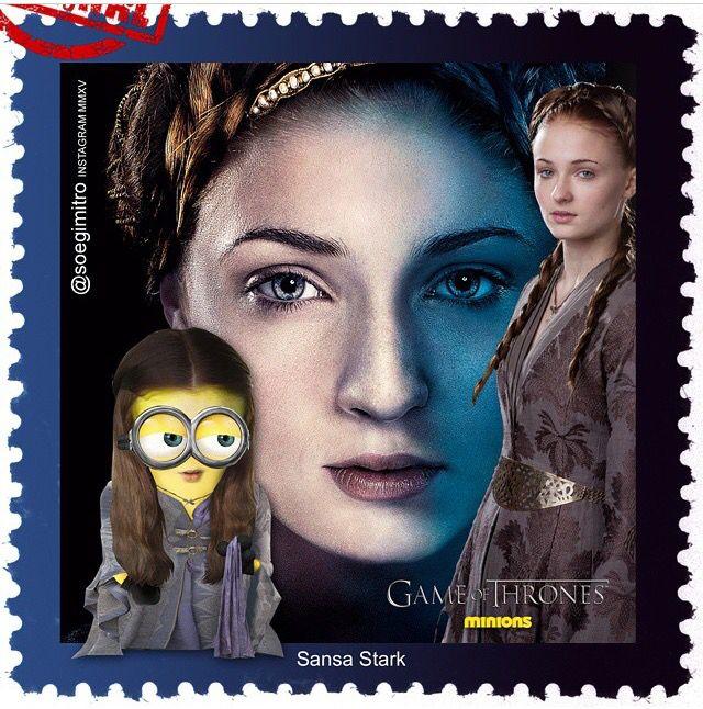 Game Of Thrones Minions ~ Sansa Stark