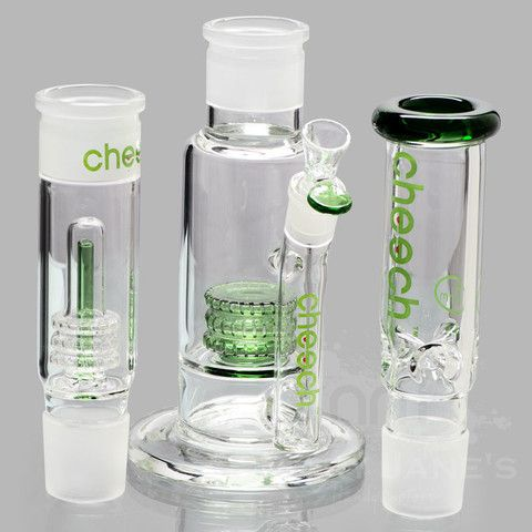 """Picture of Cheech 22"""" Tall 3 Piece Build-a-Bong Set Some really nice bongs at Mary Jane's headquarters"""