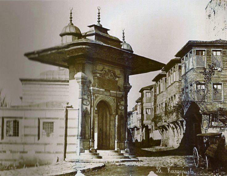 Eski İstanbul Fotoğrafı / SoğukçeşmeBasile Kargopoulo fotoğrafı