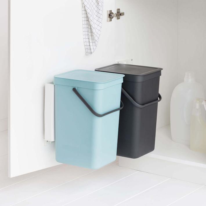 Yamazaki Expandable Cutlery Drawer Organizer West Elm In 2021 Drawer Organisers Trash Can Trash Cans