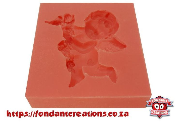 Cupid with Flowers Mould
