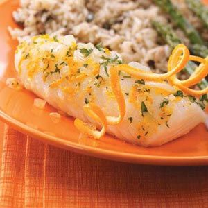 Citrus Fish..I used Tilapia and it was very good! But I would prefer a bit of crisp rather then steam