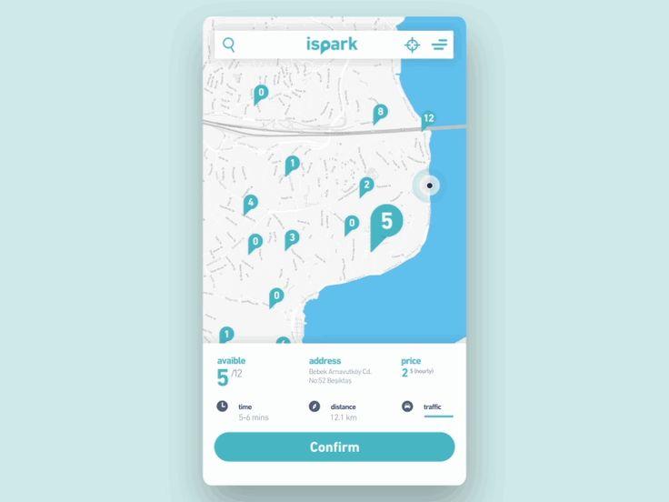 Ispark Mobile App Animation by Alper Tornaci