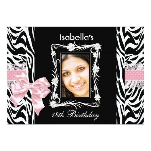 17 Best images about 18th Birthday Party Invitations – 18th Birthday Invites