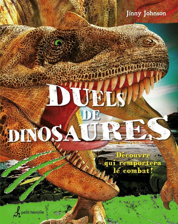 Duels de dinosaures - Découvre qui remportera le combat ! - Jinny Johnson - 900284 #Livre #Enfant #BD #Book #Guide