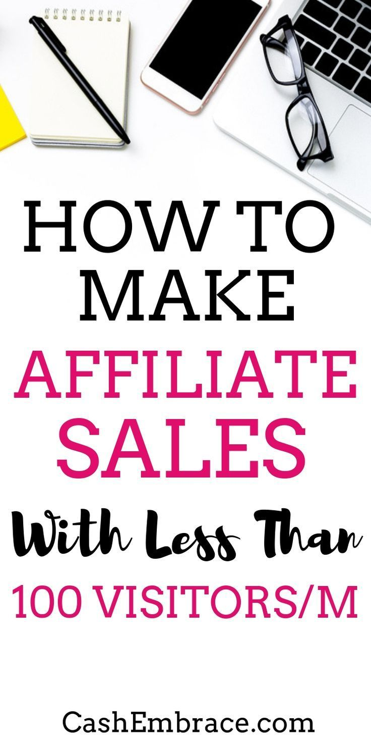 How To Make Affiliate Sales (With Less Than 100 Visitors To Your Website!) – Emily Syring l Start A Blog l Work At Home