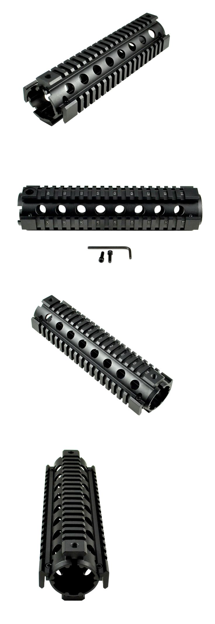 Other Outdoor Sports 159048: Sniper 9 Handguard Quad Rail Fit Triangle End Drop In Two Piece .223 556 BUY IT NOW ONLY: $31.95