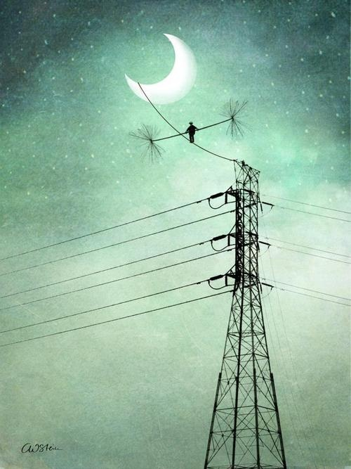 By Catrin Welz-Stein... see, you could ONLY get away with this in the middle of the night! https://www.facebook.com/CrescentDragonwagonFearlessly