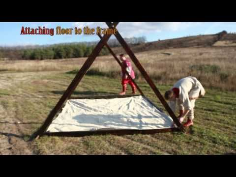 ▶ Viking Canvas Tent 10'x10' by ArmStreet - YouTube