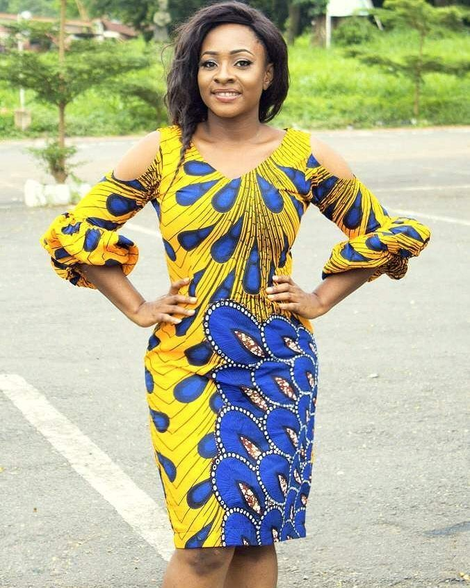 Ankara fabrics are the in-thing and the first outfit idea that comes to your mind is a statement Ankara wear. It's become acceptable to almost any function these days provided it's made with a lot of taste and elegance. To make a statement in your Ankara outfit, concentrate on the details...