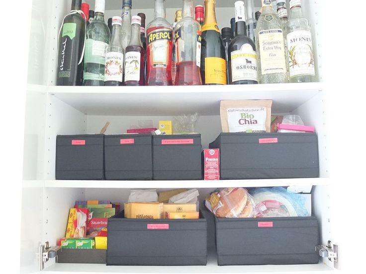 142 besten Ordnung Küche Bilder auf Pinterest Ordnung, Praktisch - ordnung im küchenschrank