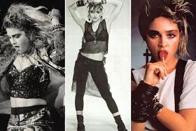 Madonna - 80's style