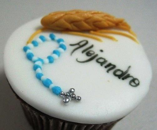 cupcakes primera comunion niña - Buscar con Google