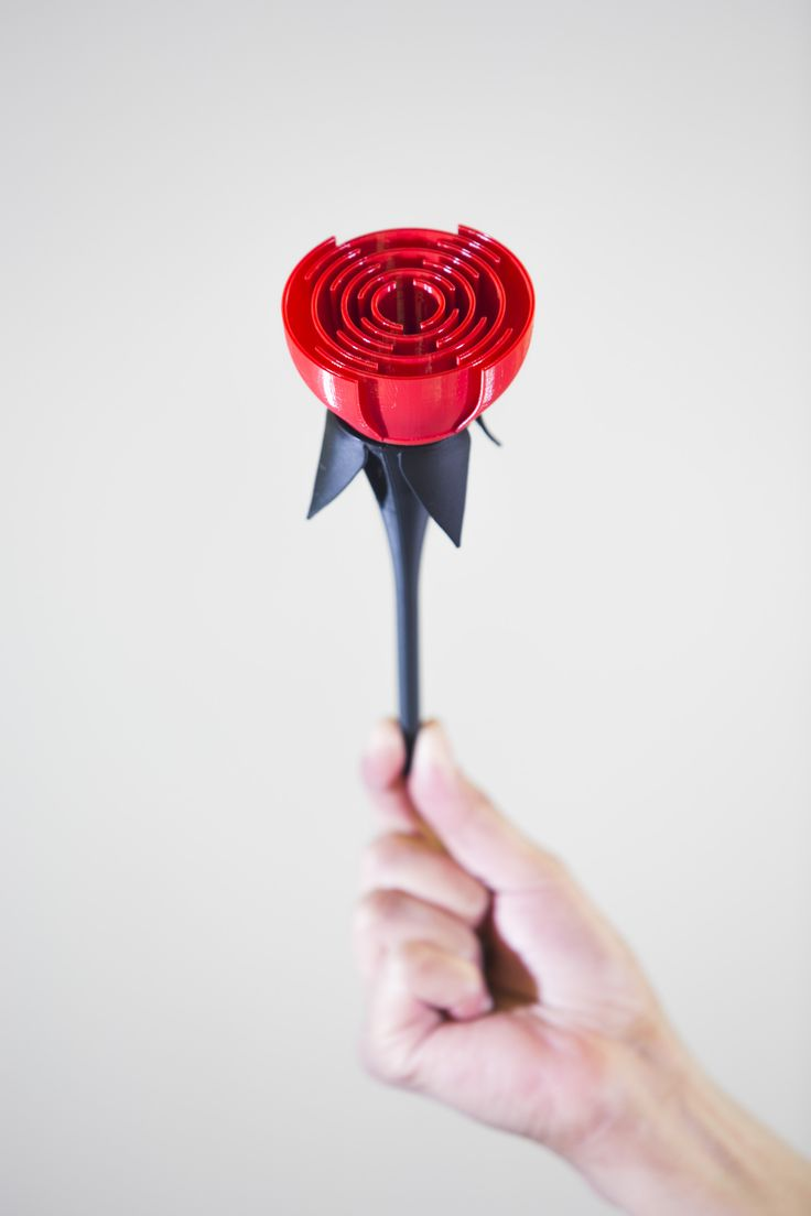Happy Valentine's Day to all our students, staff, alumni and friends!  Spread the #UoBlove and Pin our 3D printed rose to impress someone special.   Our bespoke rose was made in the Advanced Materials and Processing Lab here at the University of Birmingham.