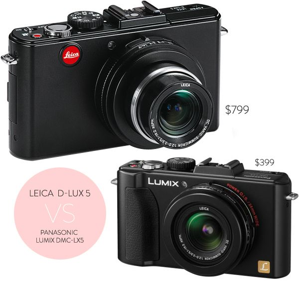 Leica - it just looks so cool.