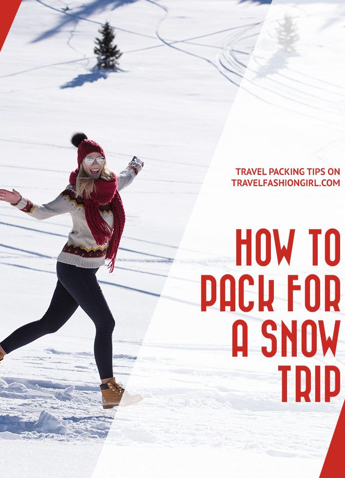 Snow trips require expert packing, as it's not easy fitting thick coats into a small bag. We're sharing our expert tips on what to wear in the snow along with a snow packing list! via @travlfashngirl https://www.travelfashiongirl.com/what-to-wear-in-the-snow-packing-list/
