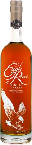 (B+) Eagle Rare 10 Year Old Bourbon: A high quality bourbon at mediocre bourbon price ($30).