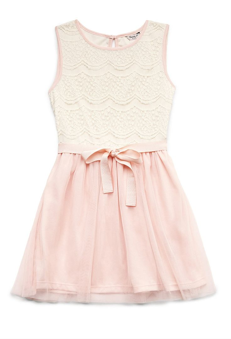 Dainty Lace Dress (Kids) | FOREVER21 girls - 2000090256